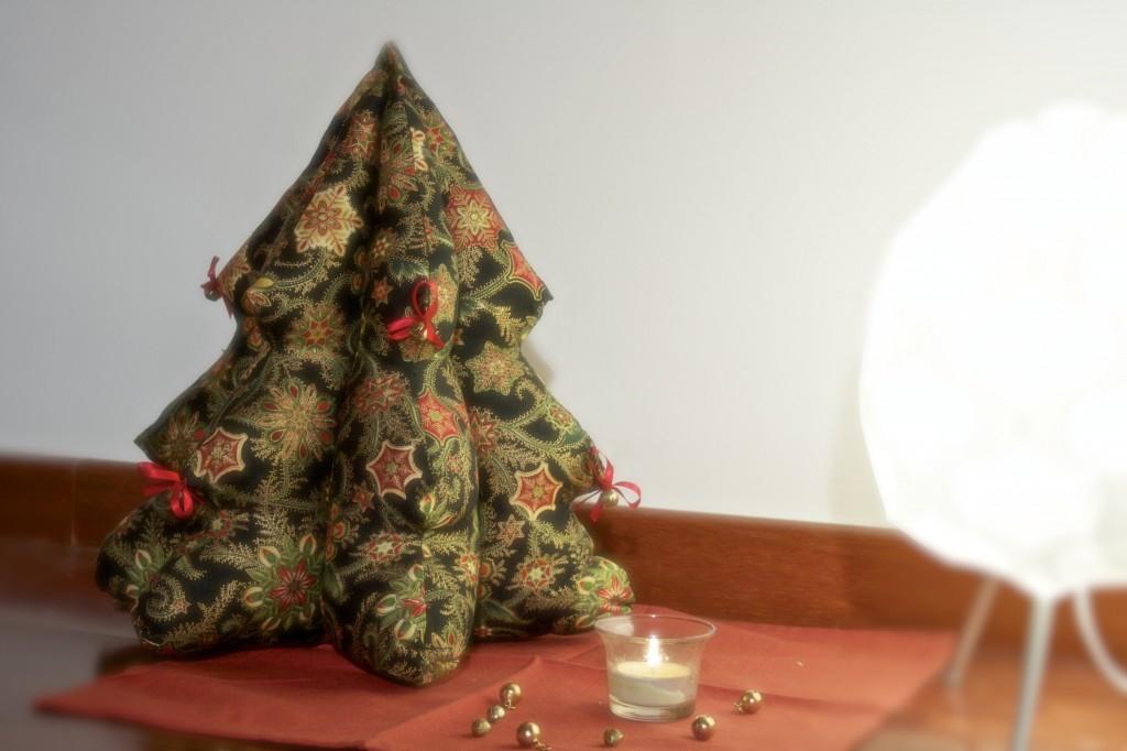 empezamos con el rbol de navidad - Arbol De Navidad De Tela
