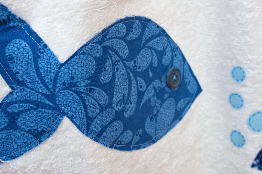 Detalle de uno de los peces