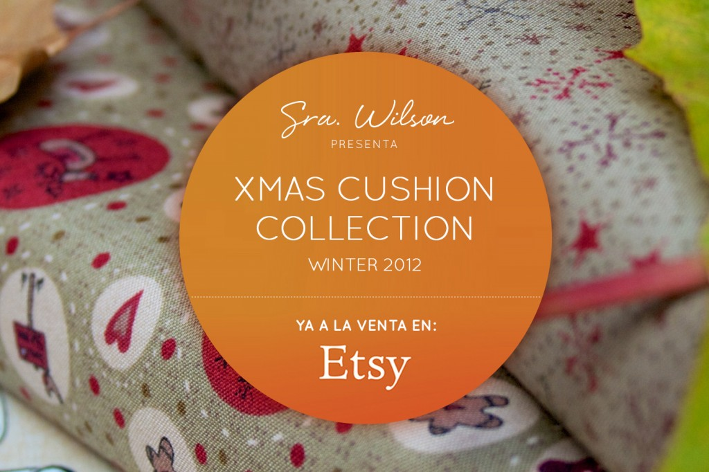 Xmas Cushion Collection - Winter 2012