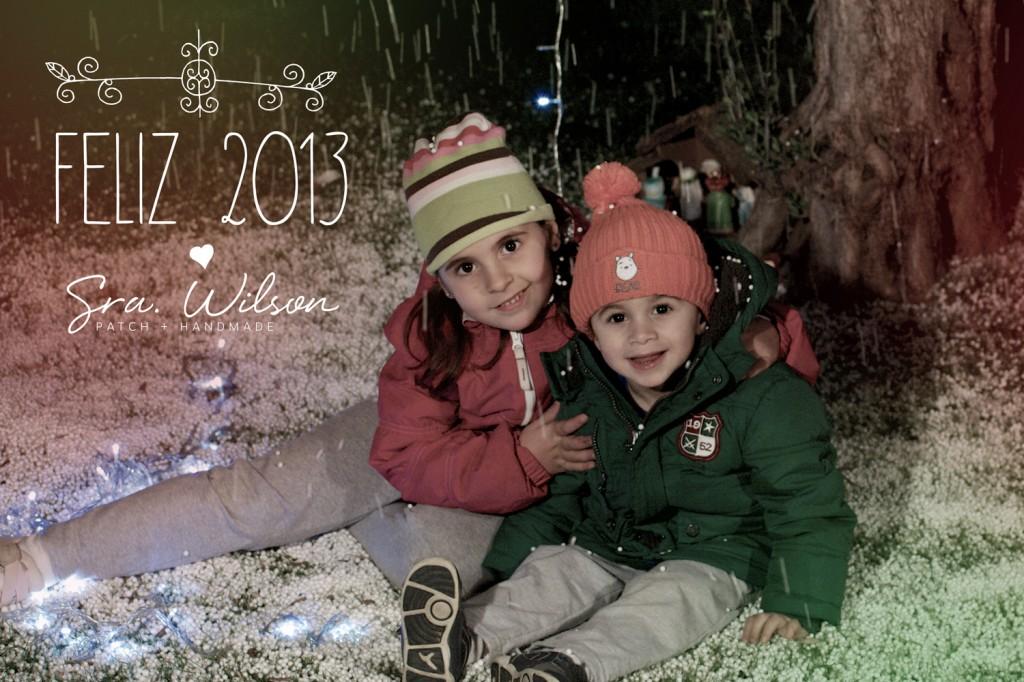 Os deseo un Feliz 2013