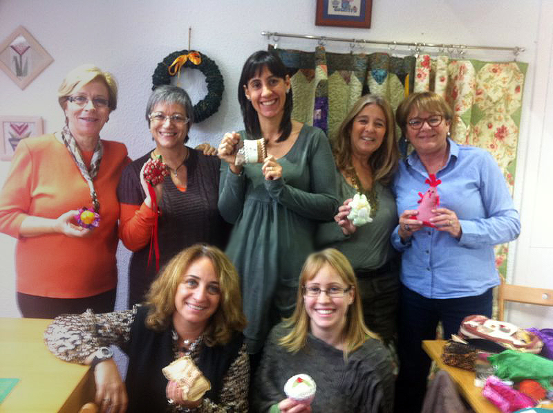 Grupo de costura de Amelia Patchwork en Cabrils