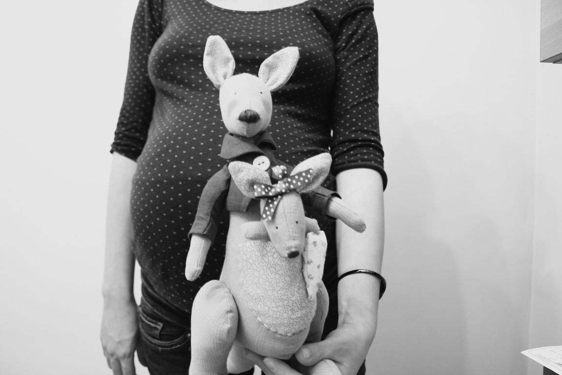 Canguro Tilda y la mamá de Arlet